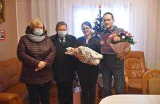 Więcej o: Aniela pierwszą brzozowianką urodzoną w2021r.